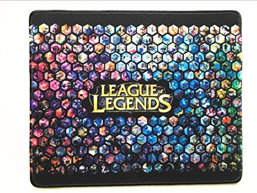Gaming Gamer LOL League of Legend Huge All Hero Show Mouse Pad High Sensitivity Waterproof Nonskid ¡­ (Best Mouse Sensitivity For League Of Legends)