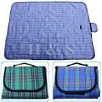"H&S� X Large 57x79"" Waterproof Picnic..."