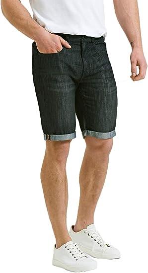 Threadbare - Pantalones cortos de mezclilla para hombre