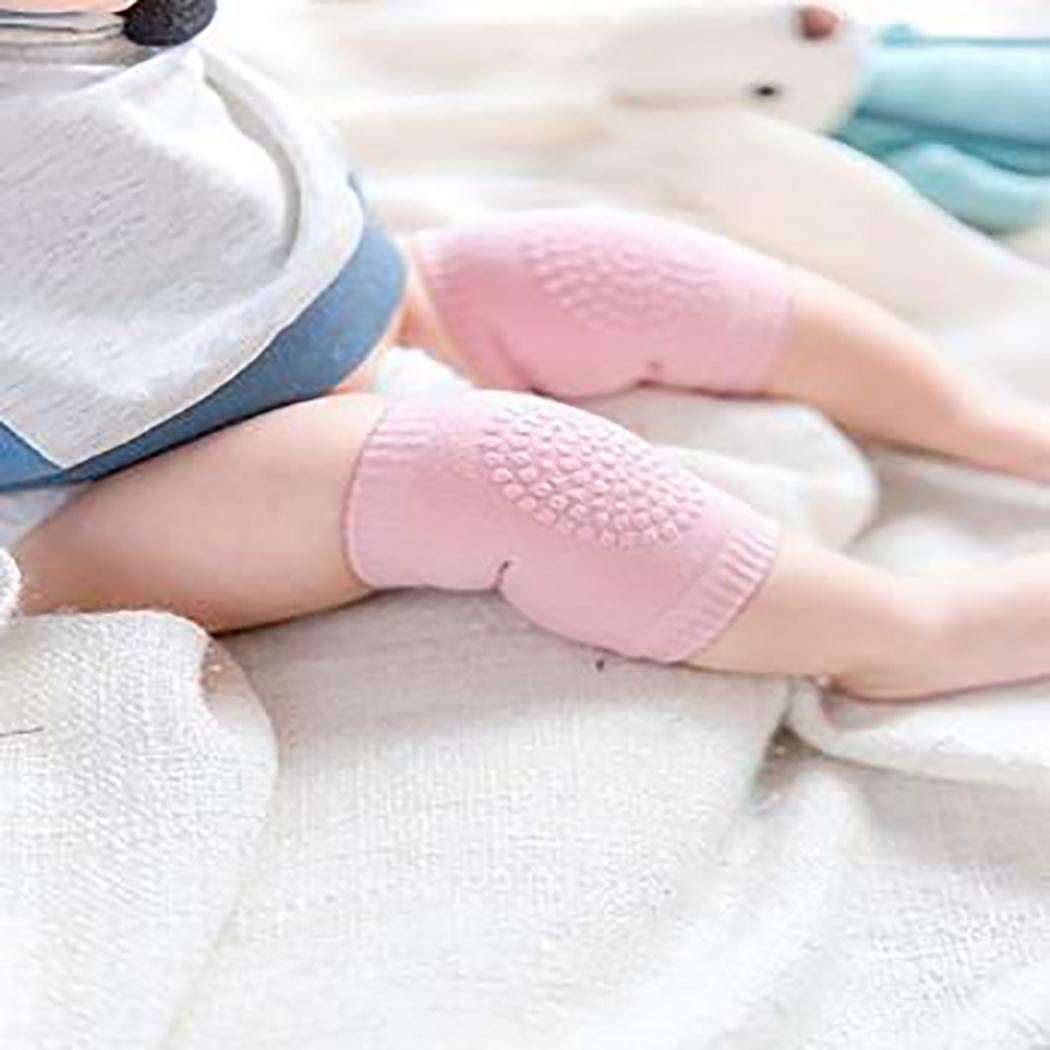 Mekolen Kids Knee Guards Baby Non-slip Crawling Sports Protective Gear Socks Soft and Comfortable