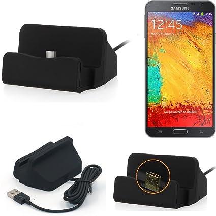 K-S-Trade Base de Carga para Samsung Galaxy Note 3 Neo 3G ...