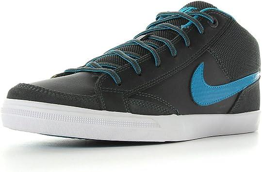 Una herramienta central que juega un papel importante. chisme Refinar  Nike Capri II Mid Zapatillas Cuero Gris Azul para Hombre: Amazon.es:  Deportes y aire libre