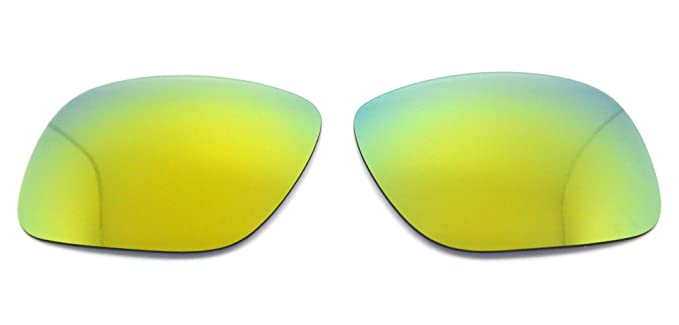 7b217f8bdfe Image Unavailable. Image not available for. Color  NicelyFitPolarized  Replacement Lenses for Oakley Holbrook Sunglasses (Gold Mirror)