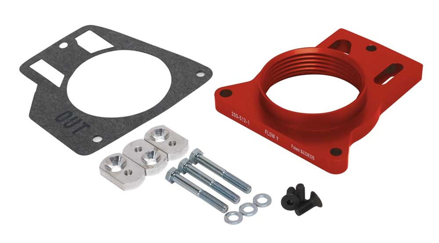 Airaid throttle Body Spacer 200-512-1 99-06 Silverado 4.8,5.3,6.0l by Airaid