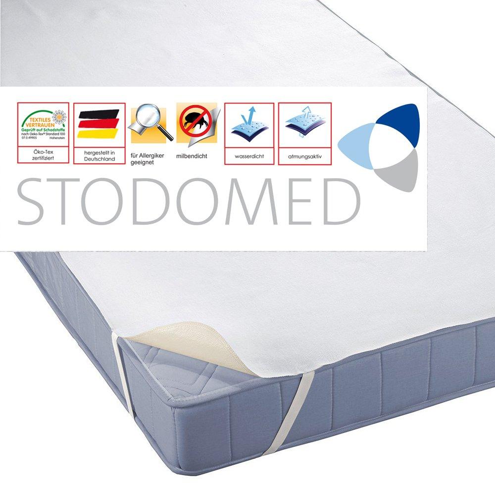 STODOMED Wasserundurchlässige Matratzenauflage Kopfkissenschoner Qualität aus Deutschland in verschiedenen Größen (160x200cm)