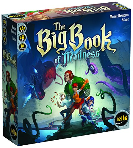 IELLO The Big Book of Madness Board Game