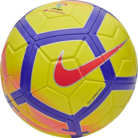 Nike Ll Nk Strk Balón, Sin género, Amarillo, S: Amazon.es ...