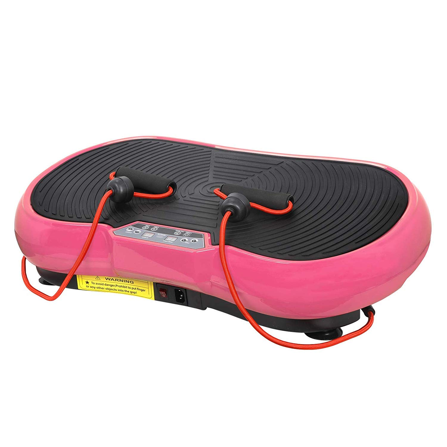 HomGarden Vibration Platform Fitness Vibration Plates Workout Massage Machine, Full Body Crazy Exercise Fit Equipment for Weight Loss w/Bluetooth by HomGarden (Image #5)
