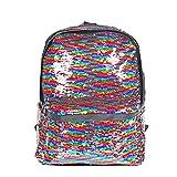 Best Girls Backpacks - HeySun Reversible Sequins School Backpack for Girl Womens Review