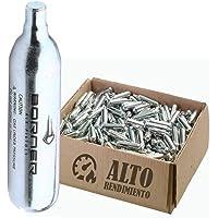 BORNER - Bombonas de CO2 de Alto Rendimiento   Capsulas de Aire comprimido con Cargas de 12 gr para Armas de Airsoft o…