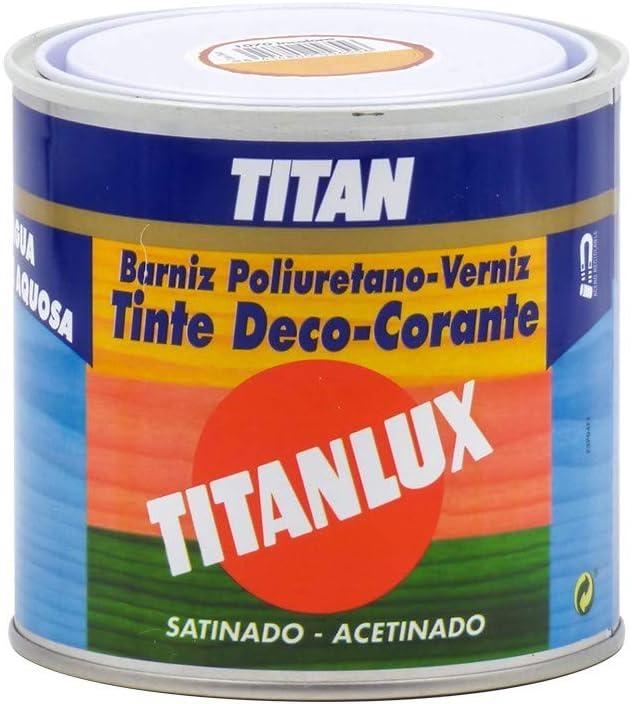 Barniz Tinte poliuretano al agua satinado 500ML: Amazon.es ...