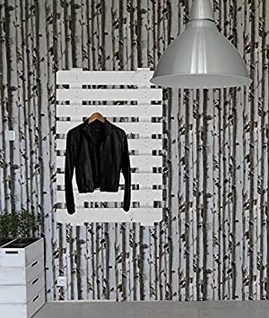 L&A Design Paleta Madera Color Blanco Perchero para Colgar ...