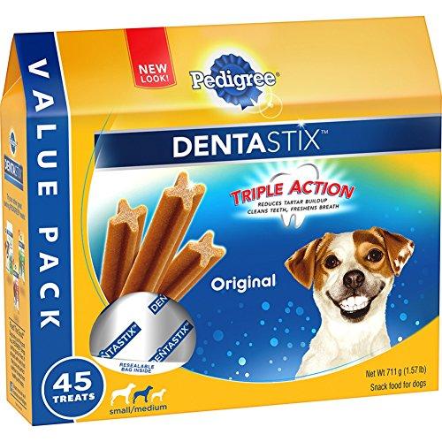 PEDIGREE-DENTASTIX-SmallMedium-Dog-Chew-Treats-Original-1-pack-of-45-Treats
