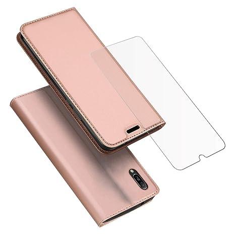 756f0879a322a FindaGift Coque Huawei Y6 Pro 2019 Yadasaro Etui Portefeuille Support PU  Cuir  Antichoc TPU