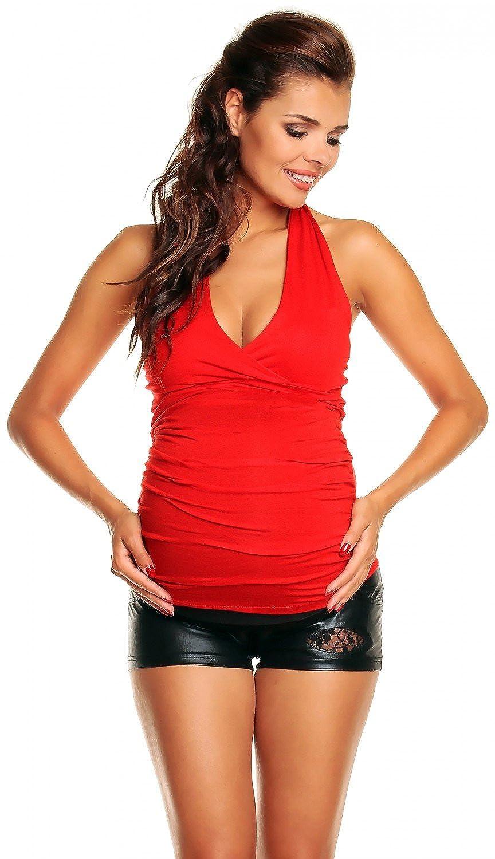 Zeta Ville - maternité - Top Grossesse - t-Shirt Grossesse - d'été - Femme -167c