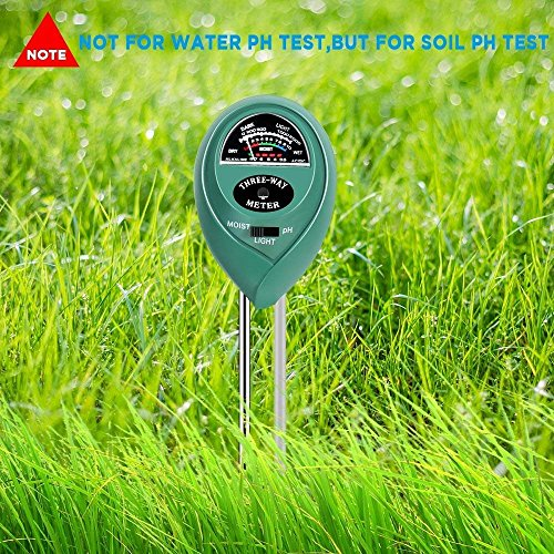 MEYUEWAL 3-in-1 Soil Test Kit for Moisture, Light & pH, Soil PH Tester Pro, for Garden,Farm,Plants, Lawn, Indoor/Outdoors Plant Care Soil Tester (No Battery Needed) by MEYUEWAL (Image #5)