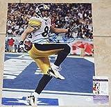 Signed Hines Ward Photograph - 16x20 SB XL TD + COA #Q50137 - JSA Certified - Autographed NFL Photos