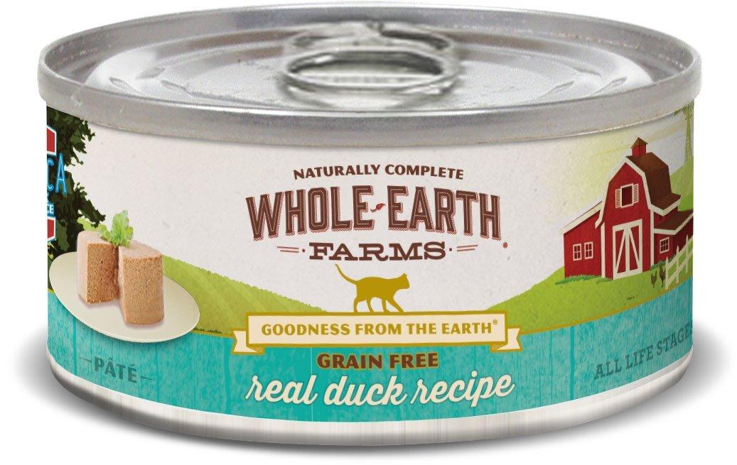 Whole Earth Farms Grain Free Real Duck Recipe (Paté)
