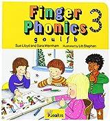 Finger Phonics Book3: g, o, u, l, f, b: G, O, U, L, F, B Bk. 3 (Jolly Phonics)