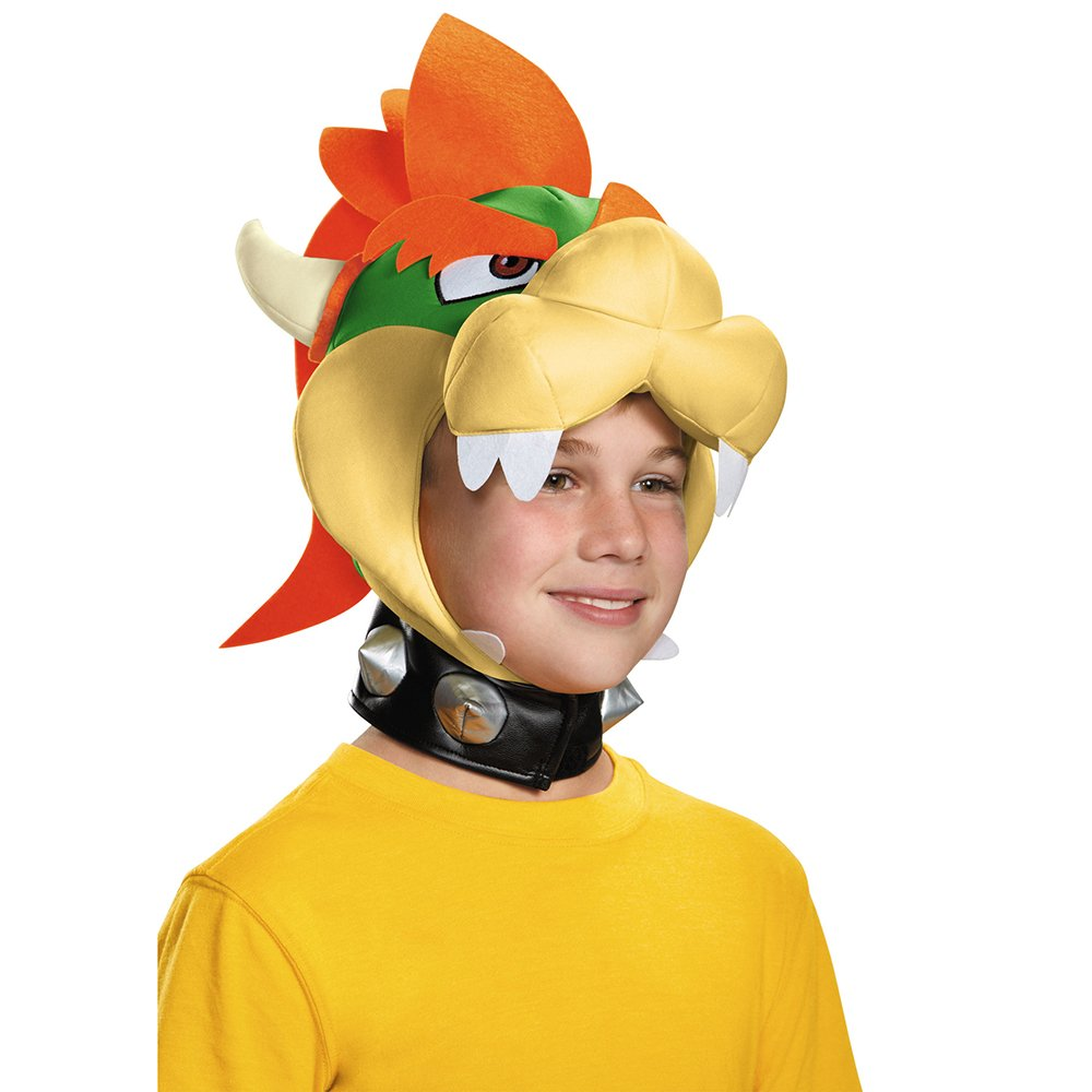 Disguise Bowser Headpiece - Child