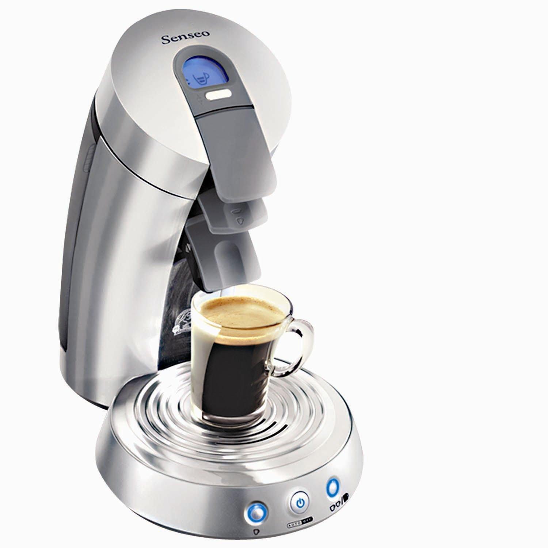 amazoncom senseo sl783255 single serve supreme coffee machine chrome single serve brewing machines kitchen u0026 dining
