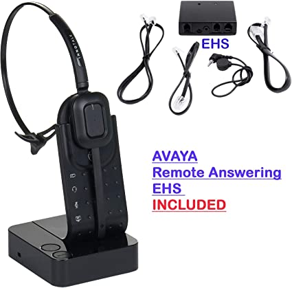 Amazon Com Avaya 1408 1416 9504 9508 Compatible Wireless Headset With Ehs Cable Home Audio Theater