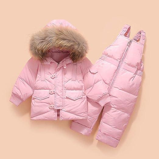 YHJ Snowsuits Bebé Traje de Nieve Invierno cálido Niñas ...