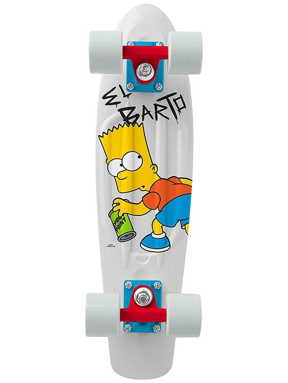 Penny The Simpsons Graphics Complete Skateboard, El Barto - Bart, 22'' L
