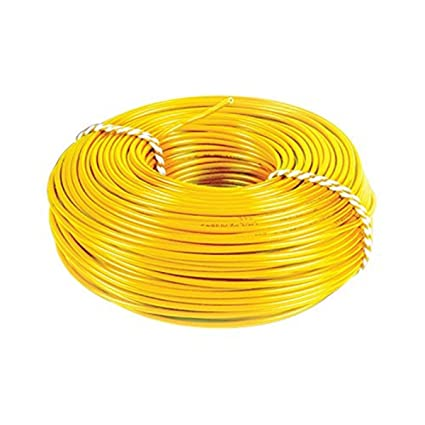 KL Cab 0.75 Sq.mm Wire 90mtr Coil (Yellow)