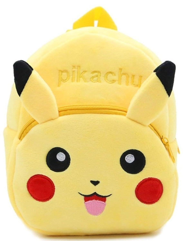 DZert Pikachu kids bags For School 10L Baby/Boys/Girls Velvet Backpack  (Yellow): Amazon.in: Bags, Wallets & Luggage