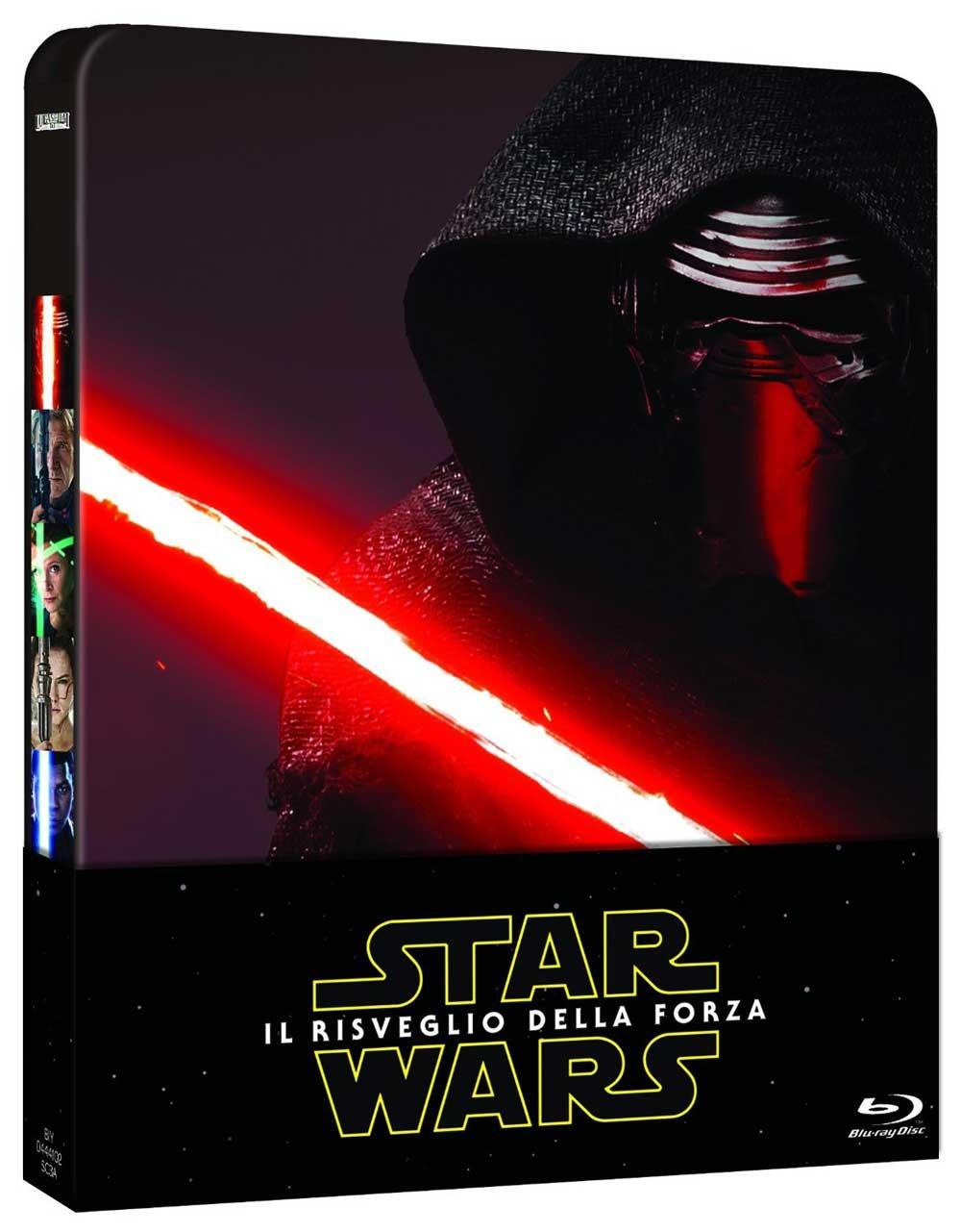 Star Wars: Il Risveglio Della Forza (Ltd Steelbook 2 Bluray)