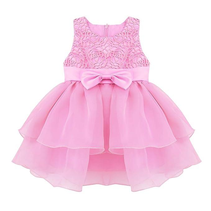 YiZYiF Vestido Boda Princesa Bebés Niñas Vestido Fiesta de ...
