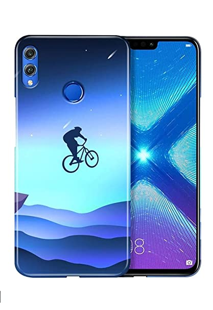 Knotyy DC1329 Printed Back Cover for Honor 8X (Multicolor)