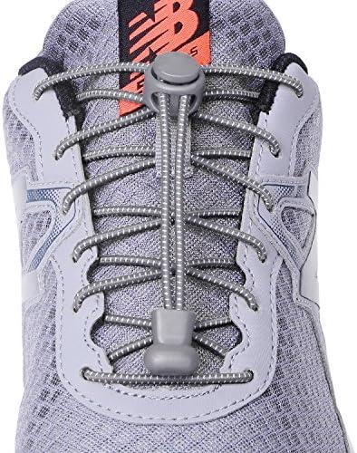 靴ひも 結ばない 緩まない フィット感 靴紐 伸びる靴ひも ほどけない ストレッチ シューレース ロックレース ランニング 簡単