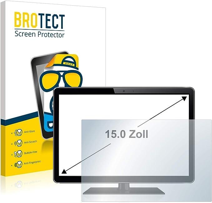 BROTECT Protector Pantalla Anti-Reflejos para Monitores industriales con 38.1 cm (15 Pulgadas) [305 mm x 228 mm, 4:3] Película Mate Anti-Huellas: Amazon.es: Electrónica