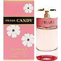 Prada Candy Florale Eau de Toilette Spray for Women, 50ml