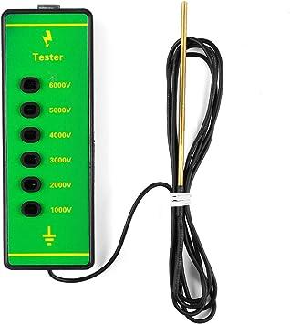 Portable Electric Farm Fence Voltage Tester 1000-6000V Test Range Indication UK