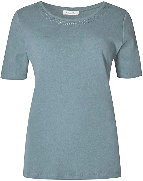 Marks and Spencer Crew Neck Cotton T-Shirt M/&S ex