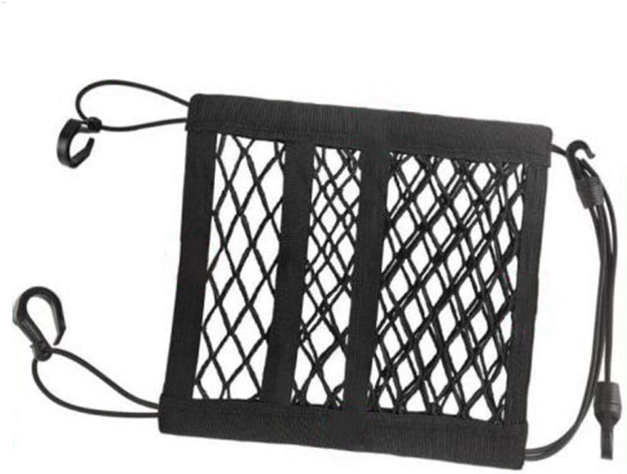 Accessories Parts WFAL unusual Universal Car Trunk Storage Cargo Luggage Elastic Mesh Net Bag Holder Pocket None one size BK2