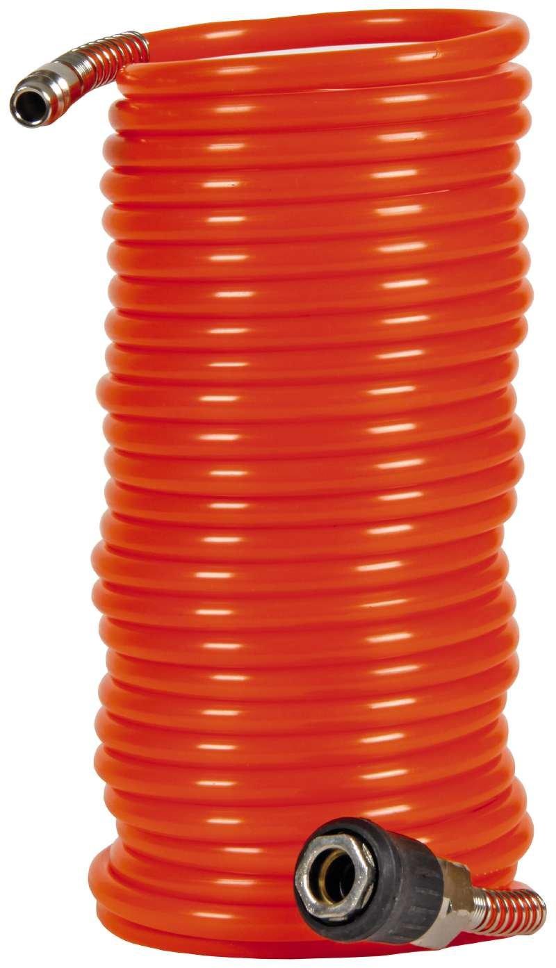 Tubo en espiral para compresor, 8 m, 8 bar, diámetro 6 mm, Einhell 4139420