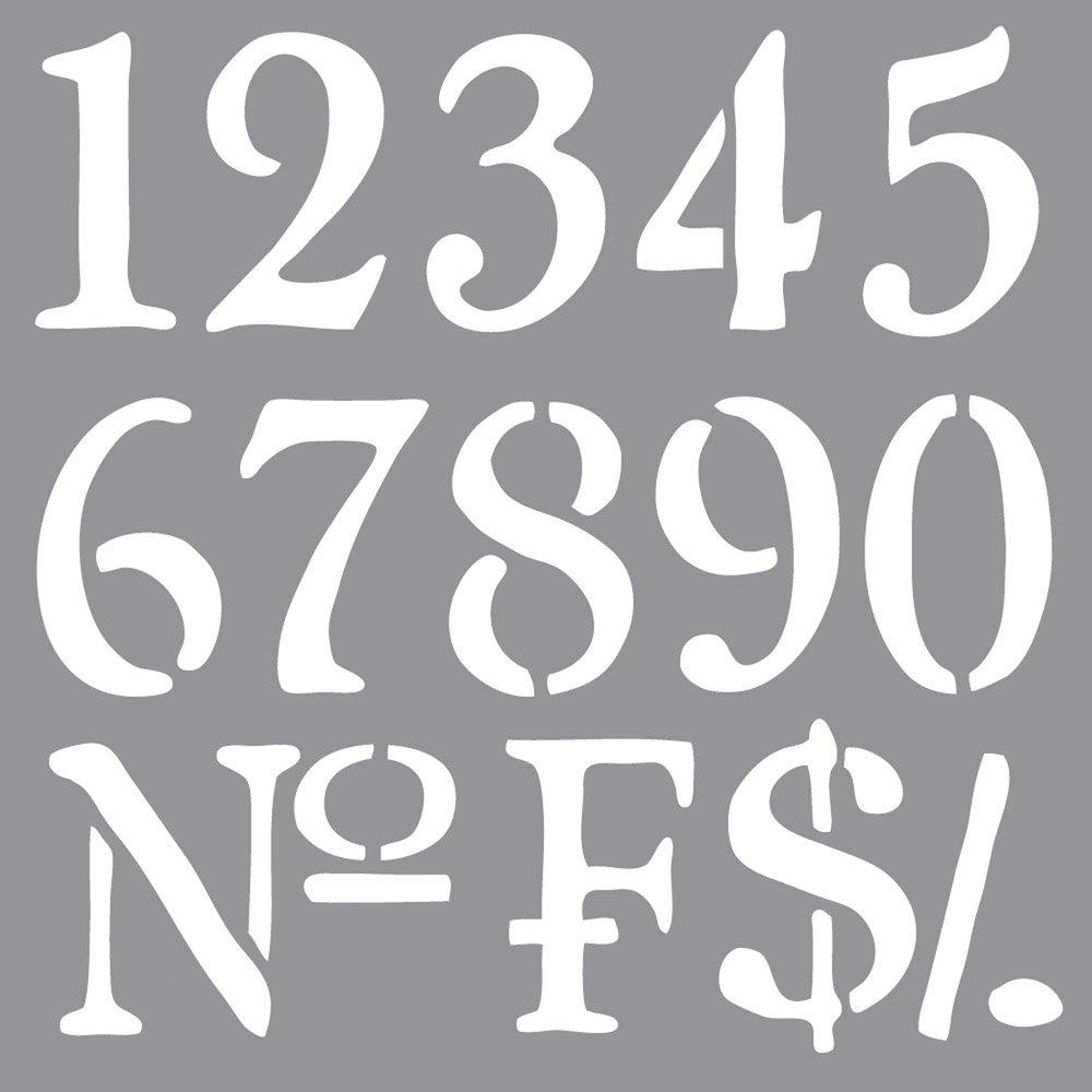 2 12 38904000 SB-Btl 1 Pieza Plantilla Caf/é Par/ís 2 x 12 RAYHER