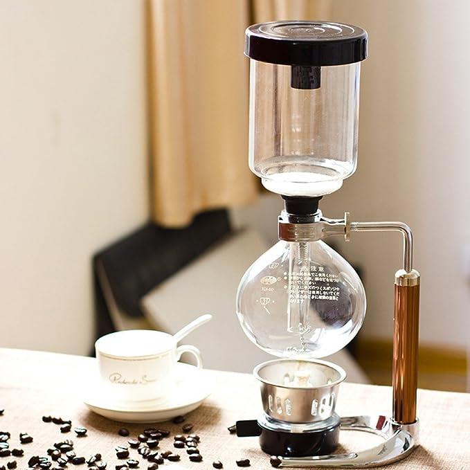 1 opinioni per TAMUME 5 Tazza Caffè Syphon Vuoto e Caffè per la Erogazione del Caffè e del Tè
