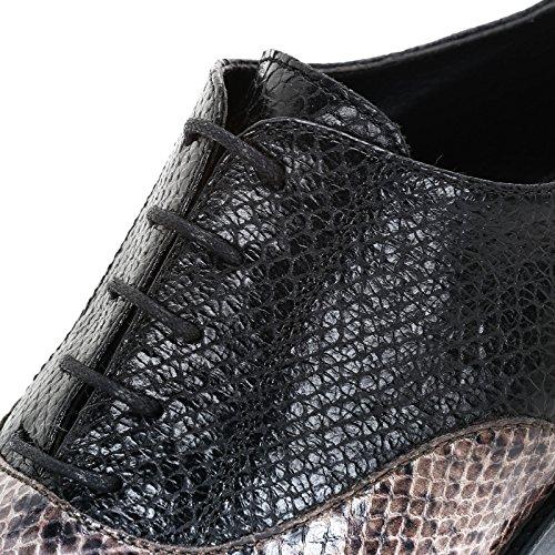 Et Imprimé Reptile Multicolore Avec Lacets Talons amp;scarpe Large Alesya À Talon By Cm 8 Chaussures Scarpe wxqZnaPzvS