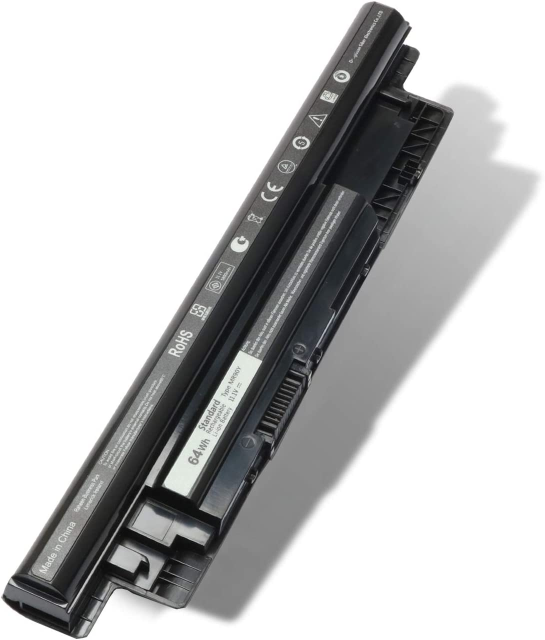 MR90Y Laptop Battery 65WH XCMRD Replacement for Dell Inspiron 14-3421 14-3437 14R-5421 14R-5437 15-3521 15-3542 15R-5537 15R-5521 17-3721 17R-5721 17R-5737 P/N: 0MF69 6HY59 N121Y