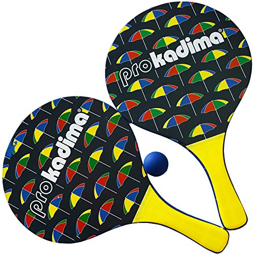 Pro Kadima Beach Paddle set Beach Designs - Umbrella (Umbrella Pro)