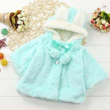 e39f2ae40 Gotd Newborn Baby Girls Autumn Winter Clothes Hooded Coat Cloak ...