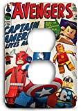 The Avengers Captain America Lego and Friends Outlet Cover