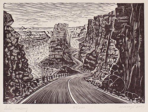 original-wood-engraving-crossing-the-lake-powell-southwest-colorado-river-desert-road