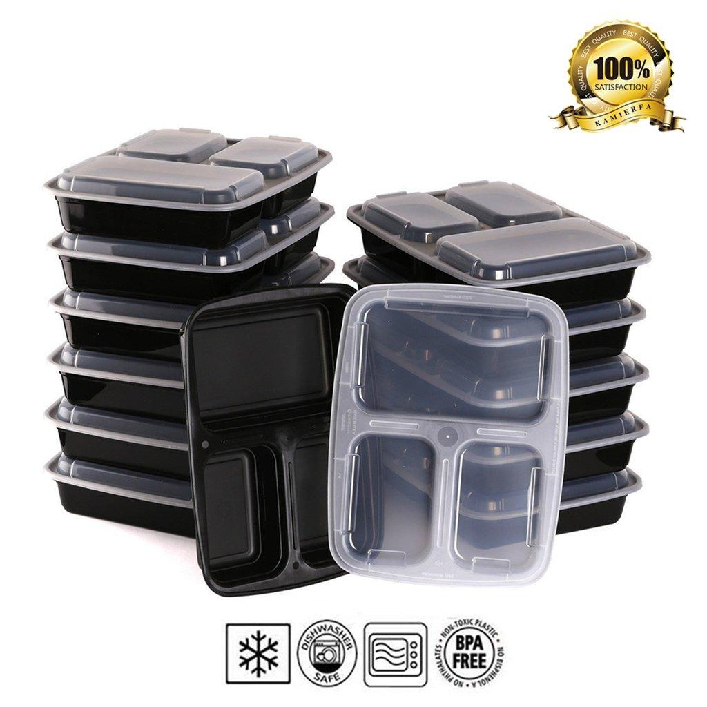 50 Unidades) kamierfa 32 onzas comida Prep contenedor de alimentos ...