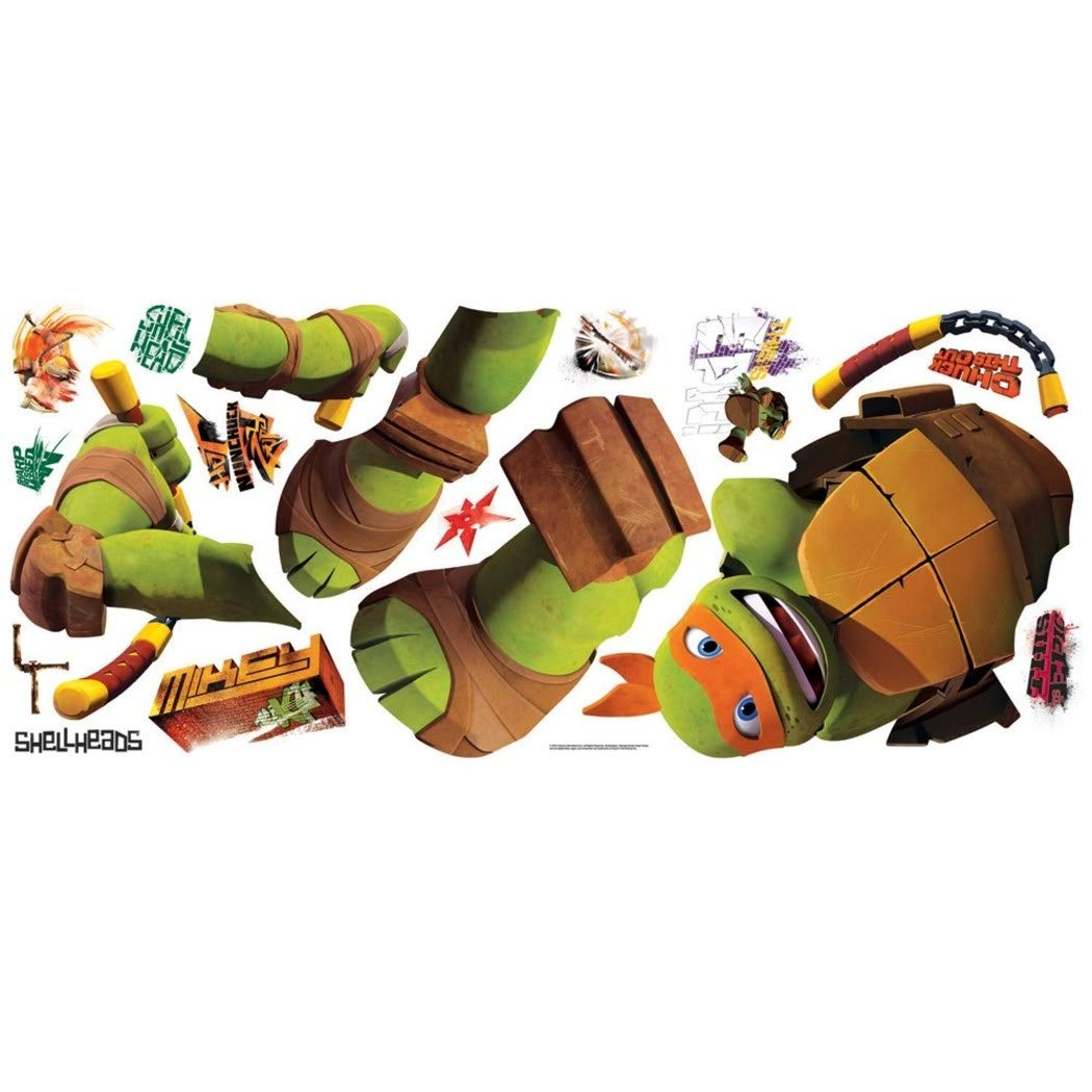 Amazon.com: Juego de 18 pegatinas de pared para niños, verde ...